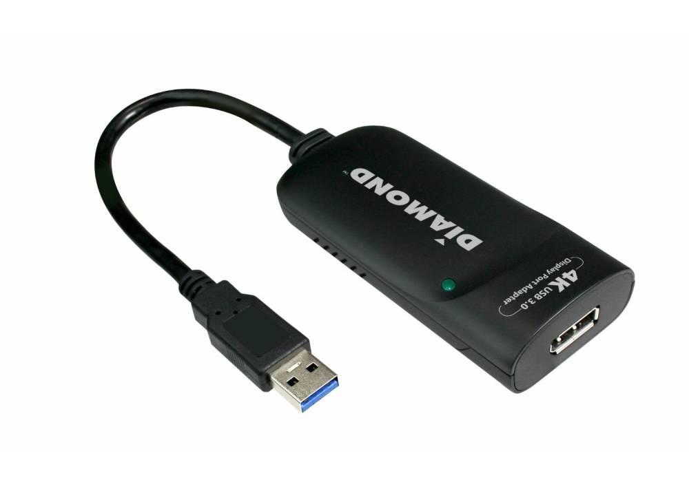 Diamond USB 3.0 to Ultra HD 4K DisplayPort Adapter