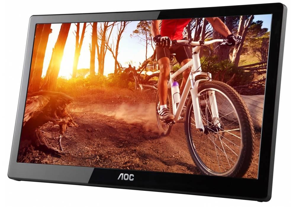 AOC e1659Fwu 16-Inch Class, USB 3.0-Powered, Portable LCD / LED Monitor