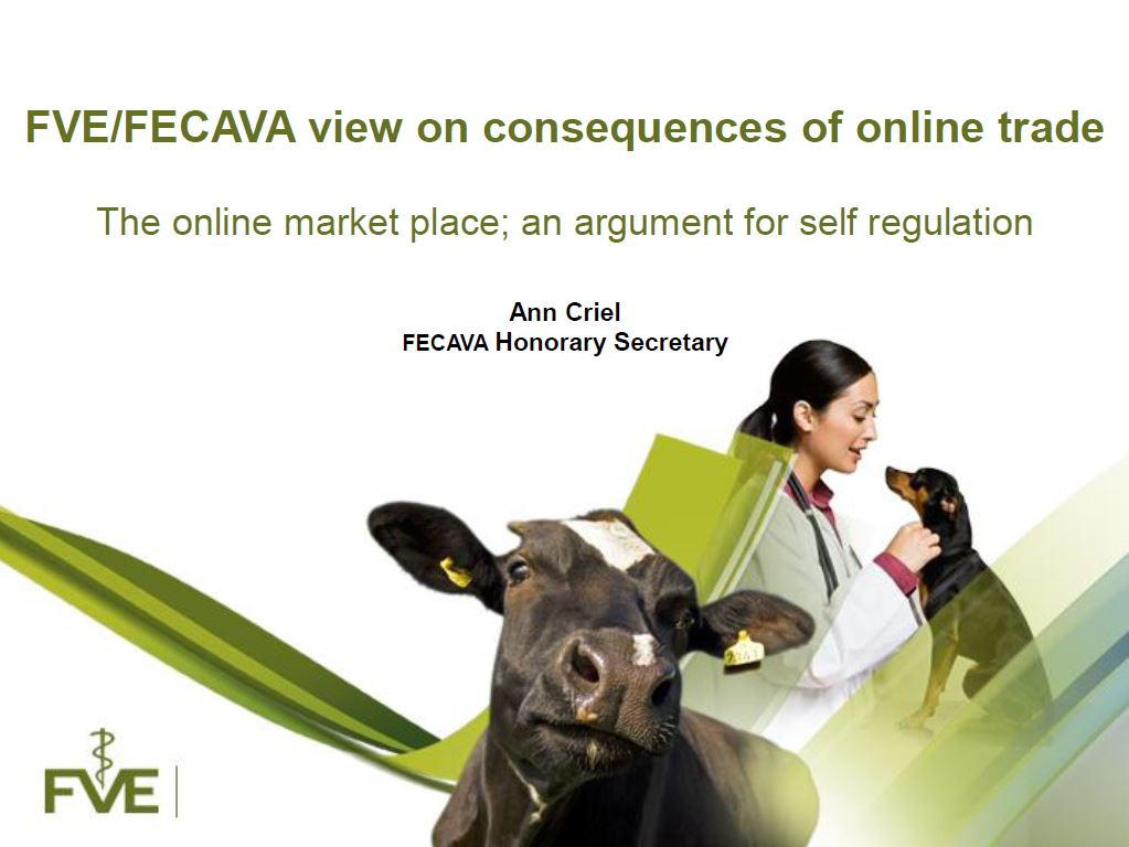 FVE/FECAVA view on consequences of online trade