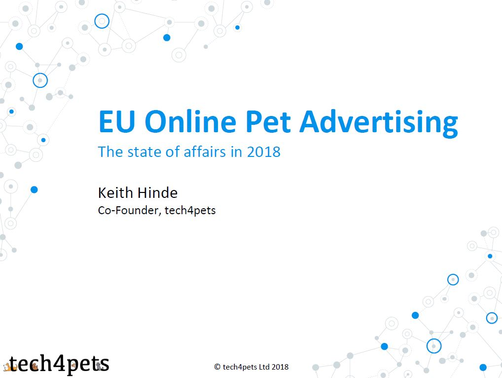 EU Online Pet Advertising: The state of affairs in 2018