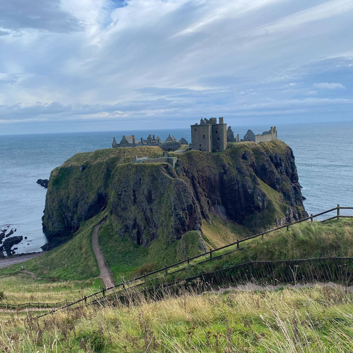 Dunnottar Castle and