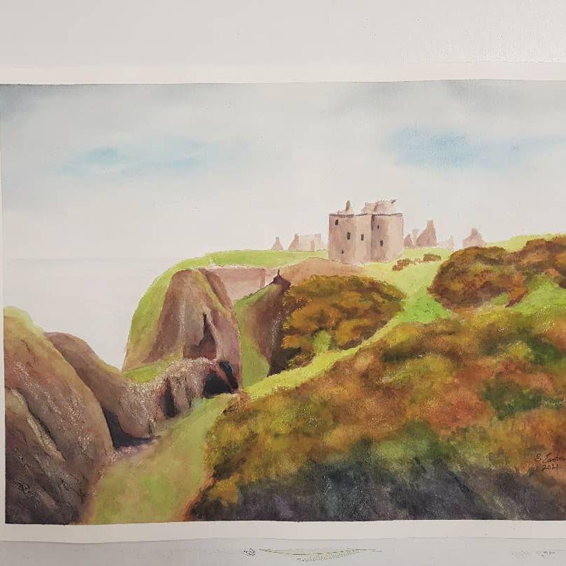 """""""Dunnottar Castle"""" -"""