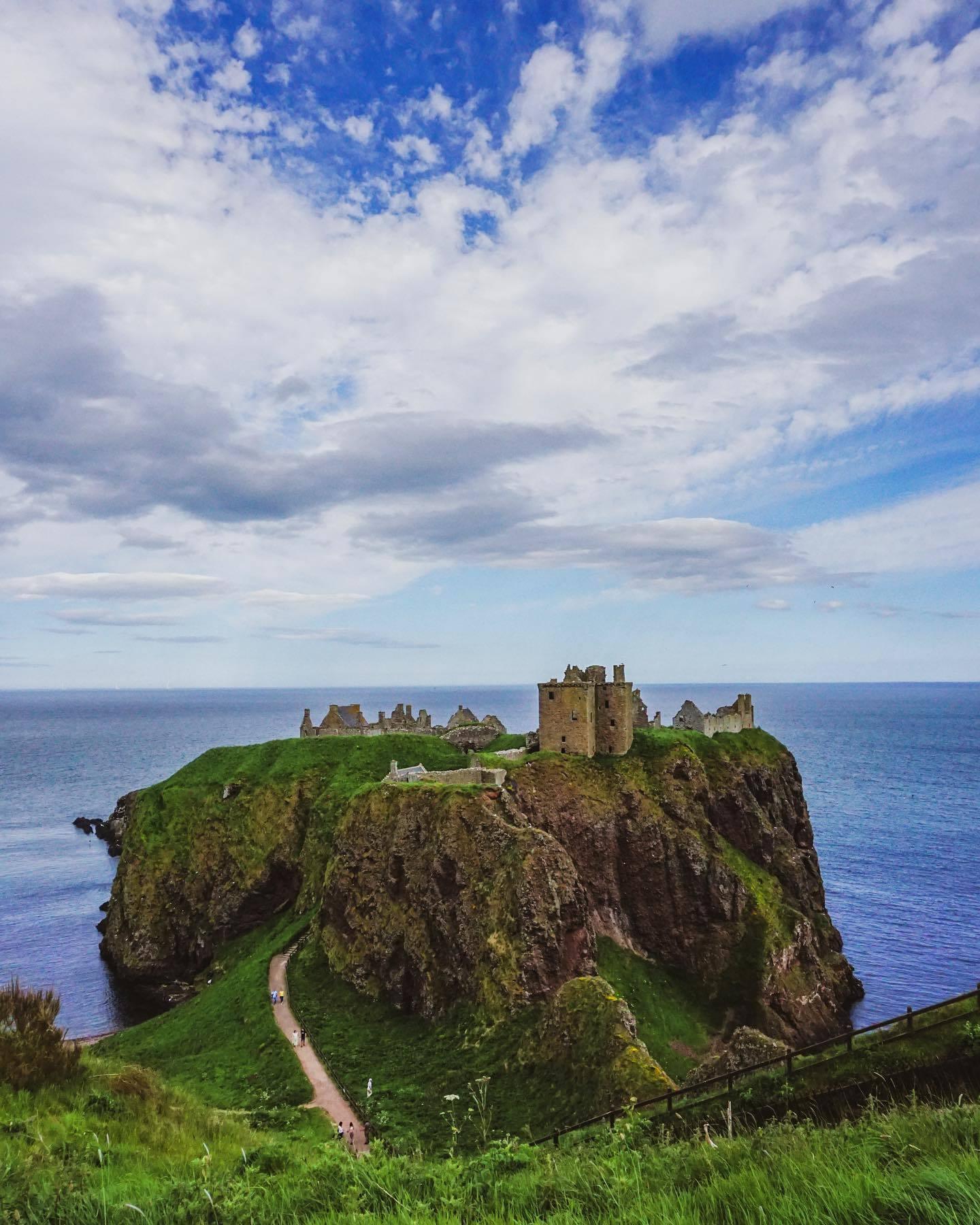 Dunnottar Castle is