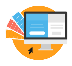 web design outshine competition icon