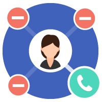 call distribution icon