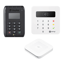 Zettle alternatives: card readers from PayPal Here, SumUp, and Square