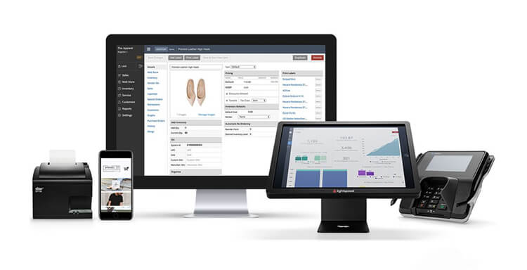 Lightspeed EPOS system on multiple devices