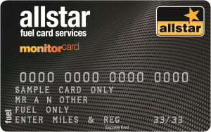 allstar monitor fuel card