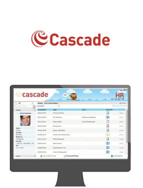 Cascade logo and interface