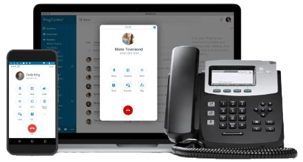 RingCentral Office small business phone system
