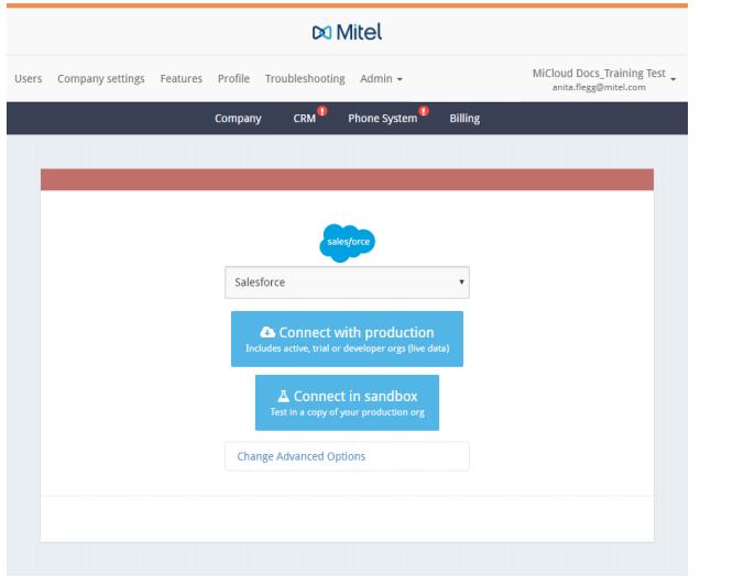 Mitel integration