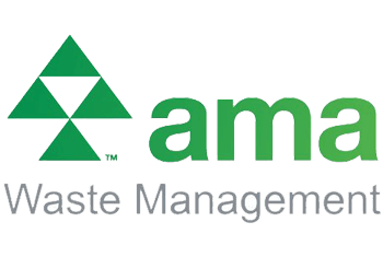 AMA waste management logo