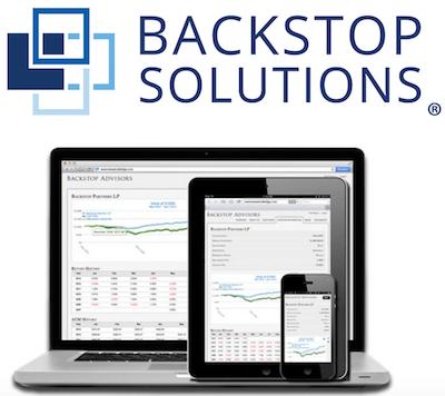 Backstop logo and interface