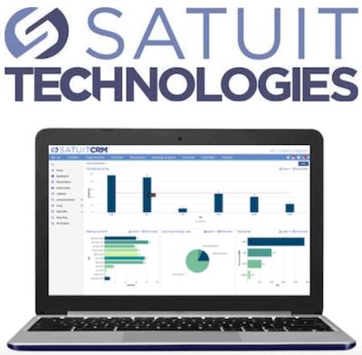 SatuitCRM logo and interface