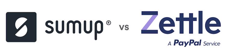SumUp vs Zettle logo