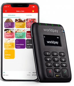 Worldpay mobile card reader