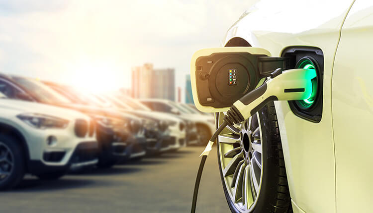 Charging an electric vehicle fleet