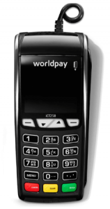 worldpay countertop card machine