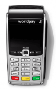 worldpay portable card machine