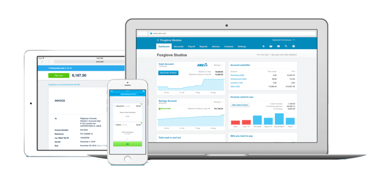 Xero payroll software for Apple devices