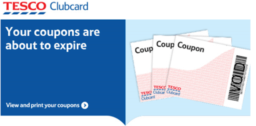 Tesco clubcard expiration email