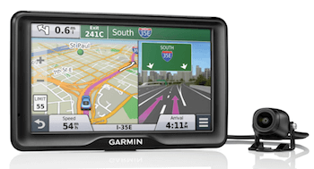 Garmin dash cam with GPS functionality