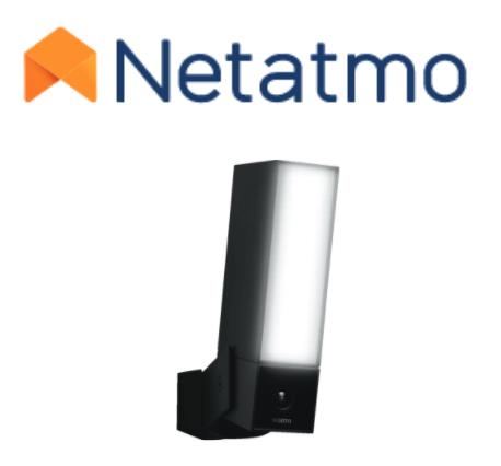 Netatmo logo and Smart Outdoor Camera