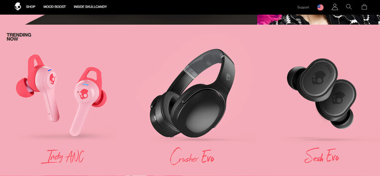 skullcandy bigcommerce example