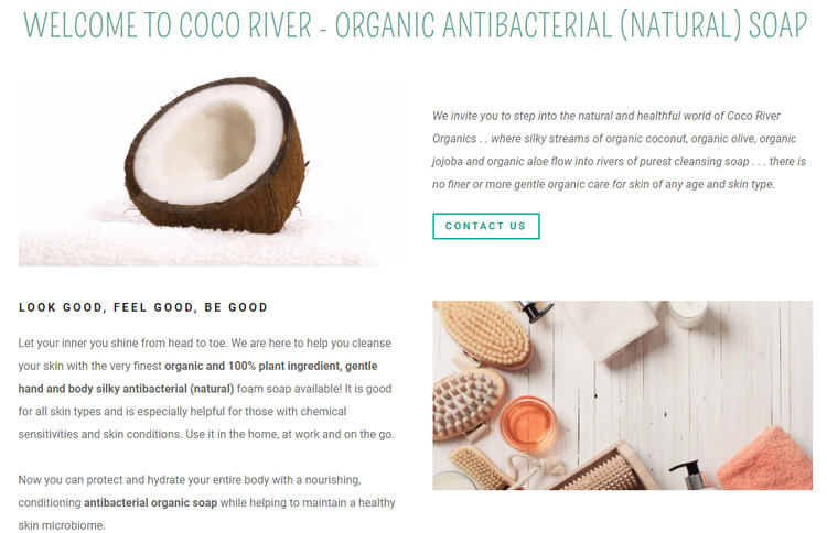 coco river godaddy example