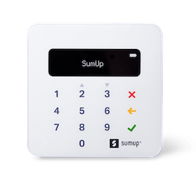 SumUp Air card reader 2021