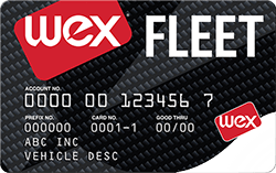 The WEX Fleet Card
