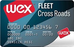 The WEX Fleet Cross Roads Card