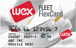 wex flex card