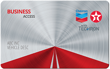 Chevron and Texaco Business Access Card