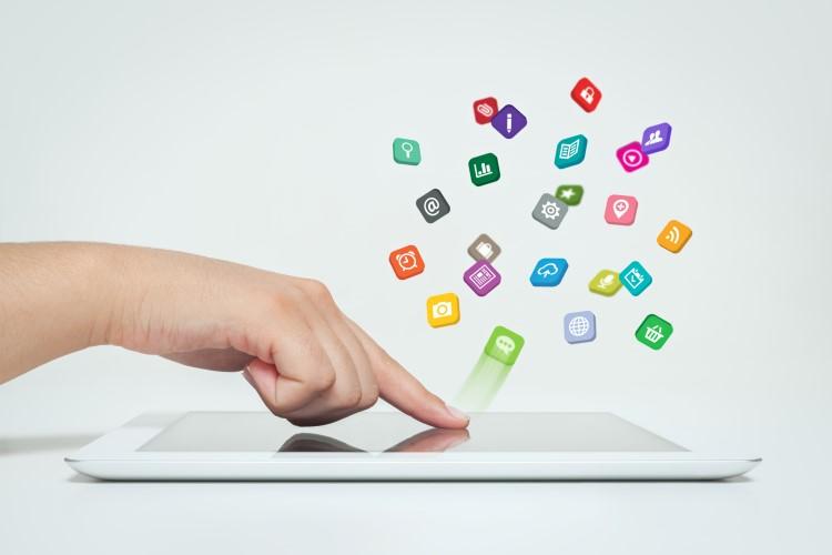 CRM apps on an iPad