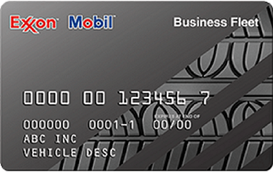 ExxonMobil Business Fleet card