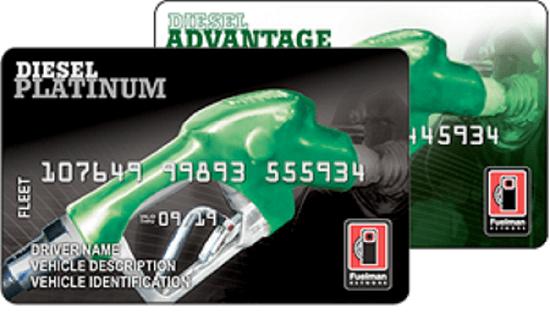 Fuelman Universal cards