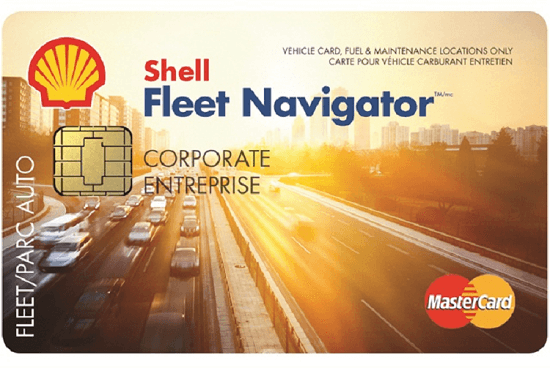 Shell Fleet Navigator fuel card