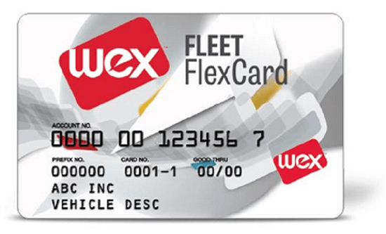 WEX Fleet FlexCard