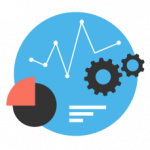 Integrate web analytics icon