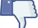 Facebook icon thumbs down