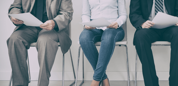 Candidates waiting to interview (featured image)