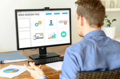 web design faq page featured image