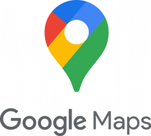 Logo de l'application de géolocalisation Google Maps