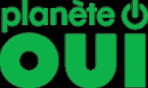 Logo du fournisseur d'électricité et de gaz Planète OUI