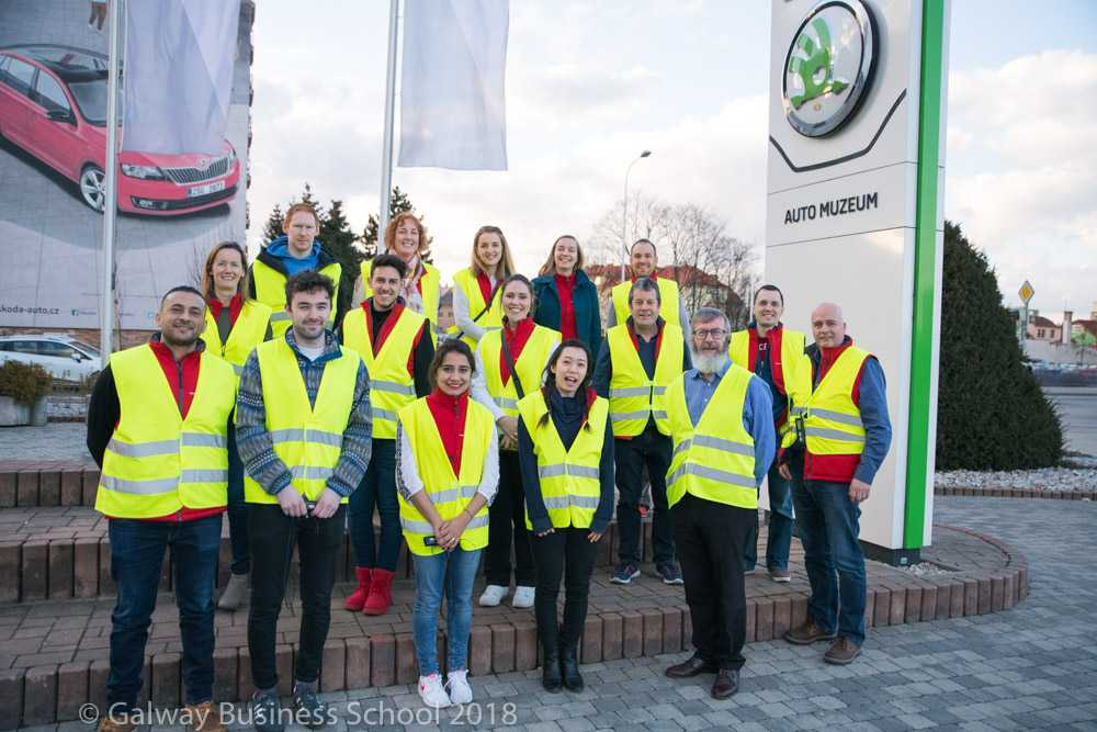 Skoda Factory - Bachelor of Business Year 4 Study Abroad Trip