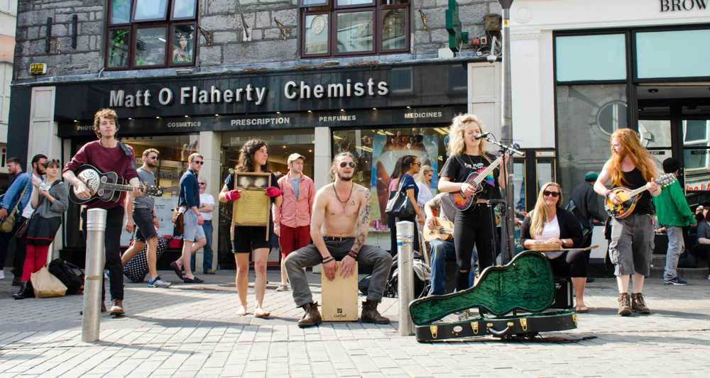 Galway is a lively city with plenty of things to do