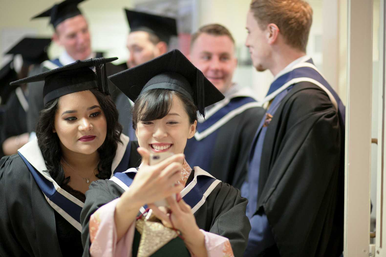 Bachelor of Business Year 3 Graduation