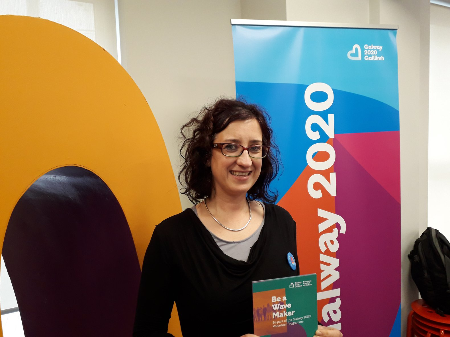 Elena Toniato, Volunteer Programme Development Manager, Galway 2020