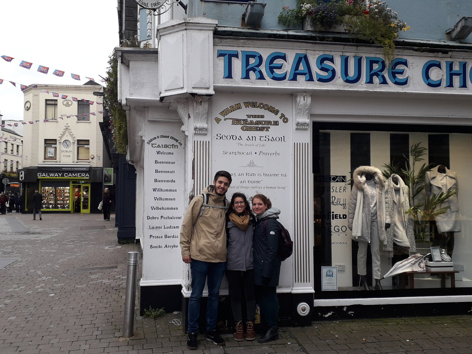 Treasure Chest - a corner of Shop Street where Ed Sheeran used to play